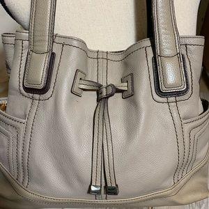 Tignanello Bags - Tignanello taupe handbag 16 x 10